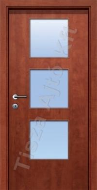beltéri ajtó Debrecen üveges kialakítással, utólag szerelhető állítható tokkal. gumi záródással, küszöb nélkül