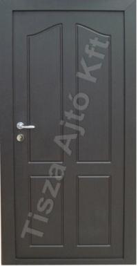 ajtó Debrecen, bejárati funkcióval, fém tok és ajtó lappal, több pontos zárszerkezettel, biztonsági kialakítás