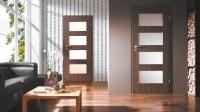 üveges laminált ajtó