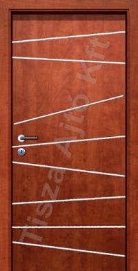 Króm csíkos cpl beltéri ajtó