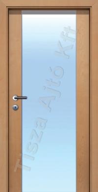 Edzett üveges cpl beltéri ajtó