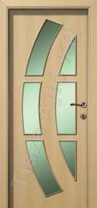 Juhar vákuumfóliás beltéri ajtó