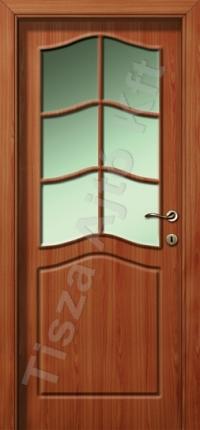 Calvados felül üveges vákuumfóliás beltéri ajtó