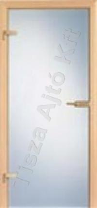 Edzett savmart üveges beltéri ajtó
