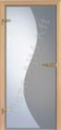 Edzett üveges beltéri ajtó Debrecen
