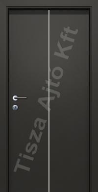 krómcsíkos pácolt furnér beltéri ajtók