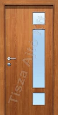 üvegezett pácolt furnér beltéri ajtók