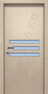 üvegezett furnéros beltéri ajtók