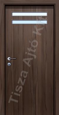 üvegezett furnér beltéri ajtók