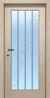 rátétléces üvegezett beltéri ajtók