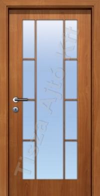 rátétléces üvegezett furnér beltéri ajtók
