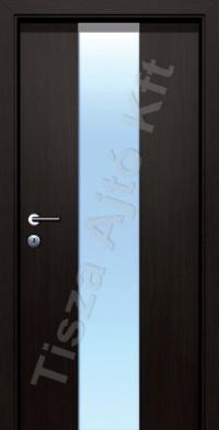 edzett üveges furnér beltéri ajtók