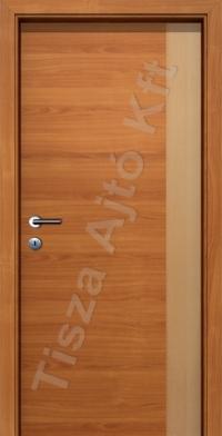 kétszínű intarziás pácolt beltéri ajtók