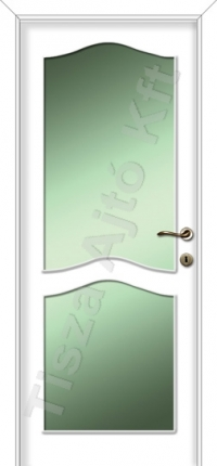 fehér festett beltéri ajtók