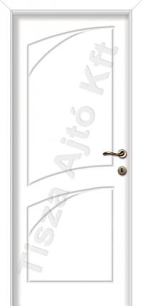 fehér beltéri ajtó
