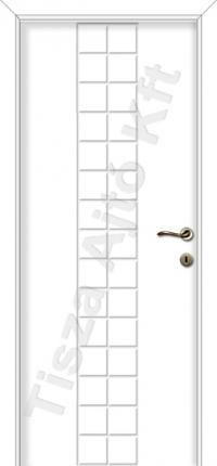 fehér beltéri ajtók