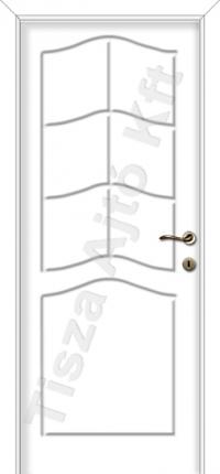 fehér laköntött beltéri ajtók