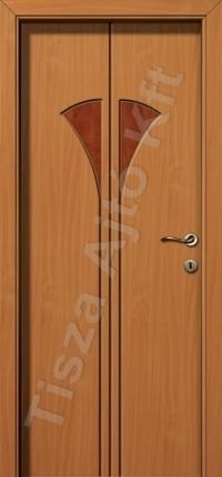 Laminált mdf ajtó 76-os mintával vákuumfóliázva