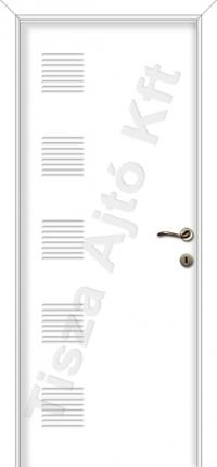 Festett mdf ajtó 79-es mintával fehér színben