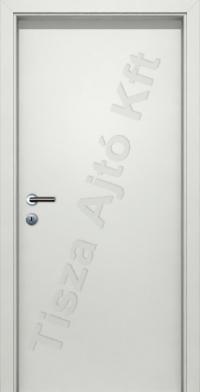 Fehér tele dekor beltéri ajtó