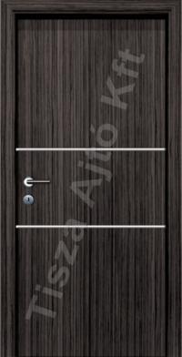 Alu 1 alucsíkos dekor beltéri ajtó