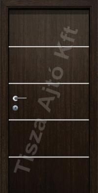 Alu 3 alucsíkos dekor beltéri ajtó