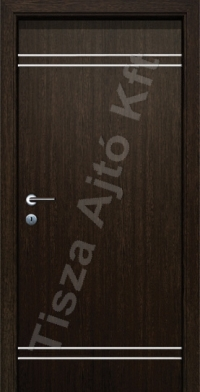 Alu 5 alucsíkos dekor beltéri ajtó