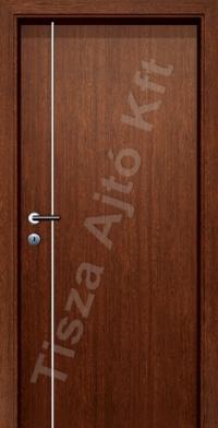 Alu 6 alucsíkos dekor beltéri ajtó