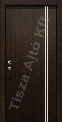 Alu 8 alucsíkos dekor beltéri ajtó