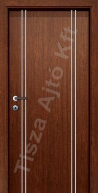 Alu 10 alucsíkos dekor beltéri ajtó