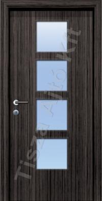 C standard üveges dekor beltéri ajtó