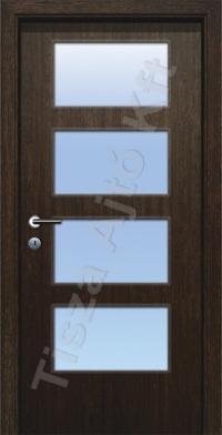 F standard üveges dekor beltéri ajtó