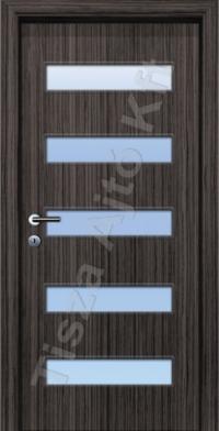 A5 SZ üveges dekor beltéri ajtó