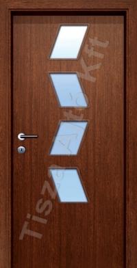 F1 üveges dekor beltéri ajtó