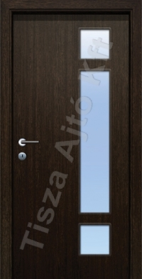 F6 üveges dekor beltéri ajtó