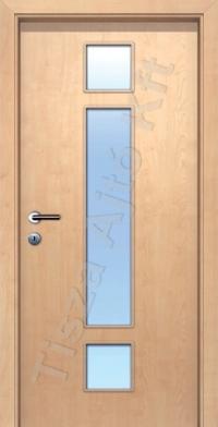 F6-2 üveges dekor beltéri ajtó