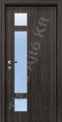 F6-3 üveges dekor beltéri ajtó