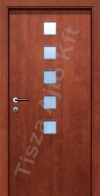 F8-2 üveges dekor beltéri ajtó