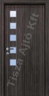 F8-3 üveges dekor beltéri ajtó