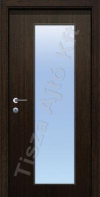 F13 üveges dekor beltéri ajtó
