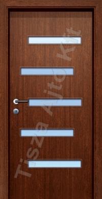 F18 üveges dekor beltéri ajtó