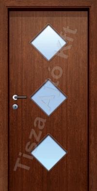 F26 üveges dekor beltéri ajtó