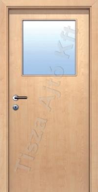 Ü1 üveges dekor beltéri ajtó