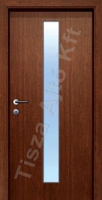 Ü4-2 üveges dekor beltéri ajtó
