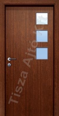 Ü5 üveges dekor beltéri ajtó