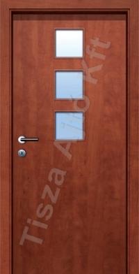 Ü5-2 üveges dekor beltéri ajtó
