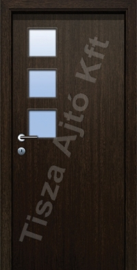 Ü5-3 üveges dekor beltéri ajtó