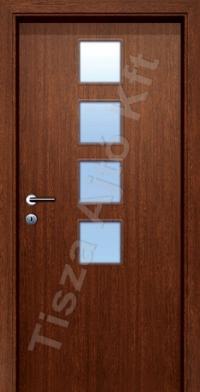 Ü6-2 üveges dekor beltéri ajtó
