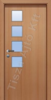 Ü6-3 üveges dekor beltéri ajtó