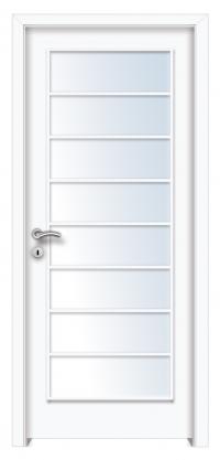 Mekka 8 beltéri ajtó minta